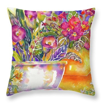 Dwarf Callas Throw Pillow