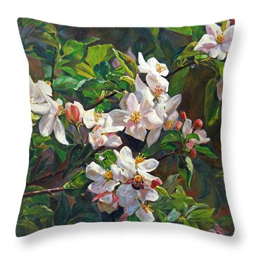 Blossom Of My Heart Throw Pillow