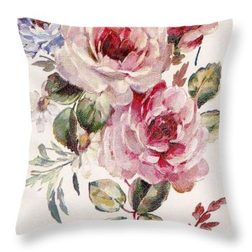Blossom Series No. 1 Throw Pillow