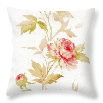Blossom Series No.2 Throw Pillow
