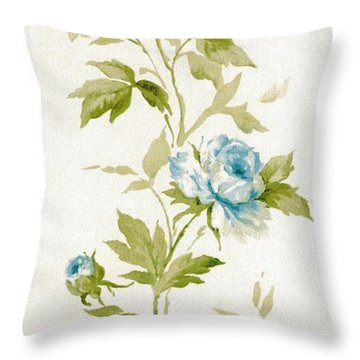 Blossom Series No.3 Throw Pillow