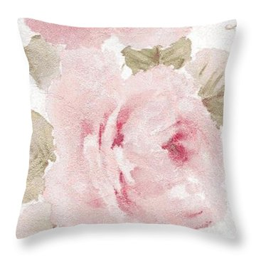 Blossom Series No.5 Throw Pillow