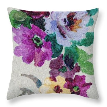 Blossom Series No.6 Throw Pillow