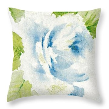 Blossom Series No.7 Throw Pillow