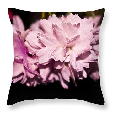 Blossom Throw Pillow by Svetlana Sewell
