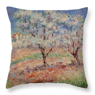 Blossom Trees  Throw Pillow
