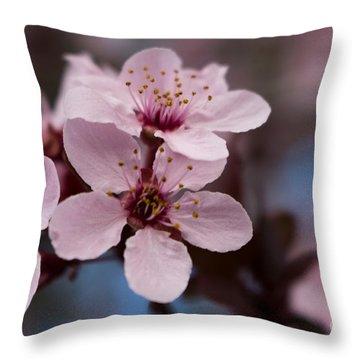 Blossom Trio Throw Pillow