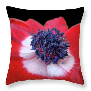 Blossoming Freedom Throw Pillow