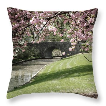 Blossoms 2 Throw Pillow by Tazz Anderson