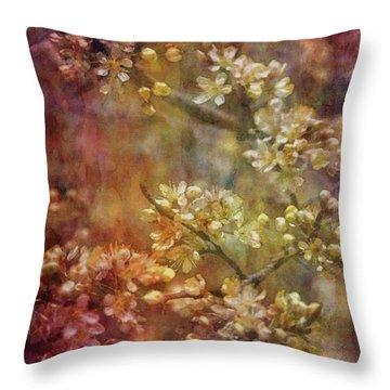 Blossoms 9664 Idp_2 Throw Pillow