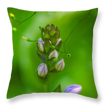 Throw Pillow featuring the photograph Blossom Dream by Ben Upham III