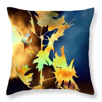 Blowin In The Wind II Throw Pillow by Tim Allen