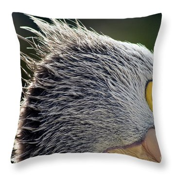 Throw Pillow featuring the photograph Blowin' In The Wind by Stephen Mitchell