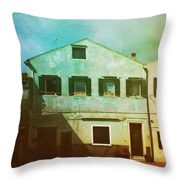 Throw Pillow featuring the photograph Blowing In The Wind by Anne Kotan