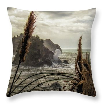 Blown  Throw Pillow