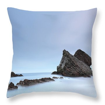 Throw Pillow featuring the photograph Blue Fiddle by Grant Glendinning