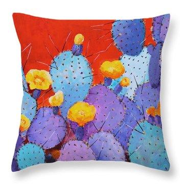 Blue Flame Companion 1 Throw Pillow