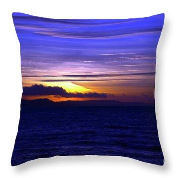 Blue Heaven  Throw Pillow by Baggieoldboy