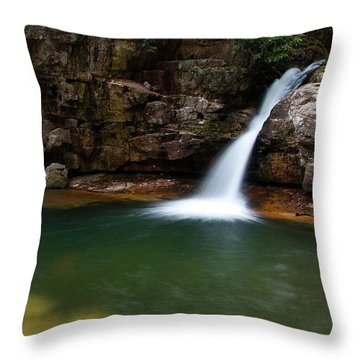 Blue Hole In Spring 2017 IIi Throw Pillow