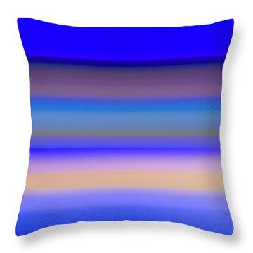 Blue Hour Throw Pillow