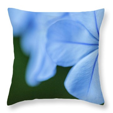 Blue In Green 2 Throw Pillow