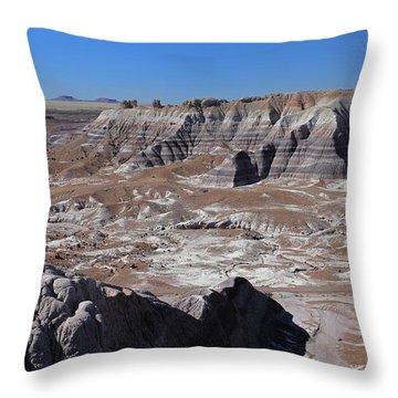 Blue Mesa Throw Pillow by Gary Kaylor