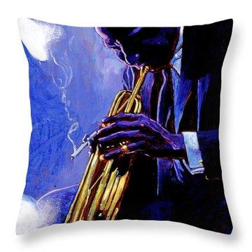 Trumpet Throw Pillows