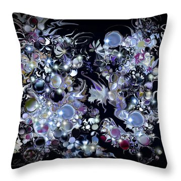 Blue Moon Throw Pillow