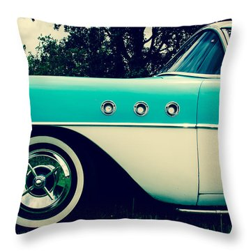 Blue  Throw Pillow by Off The Beaten Path Photography - Andrew Alexander