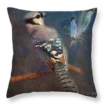 Blue On Blue 2015 Throw Pillow