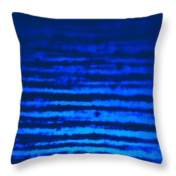 Blue Sea Dream Throw Pillow