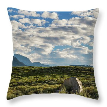Blue Sky Monmouth  Throw Pillow