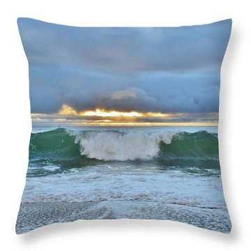 Blue Skys 2016 Throw Pillow