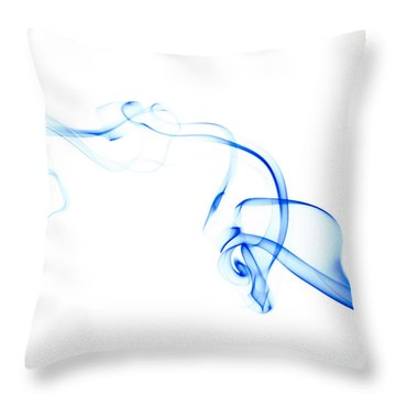 Particle Throw Pillows