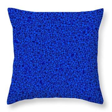 Blue Sponge Suction Cup Throw Pillow