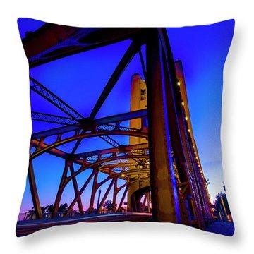 Blue Sunset- Throw Pillow