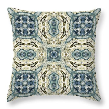 Terrapin Blues Throw Pillow