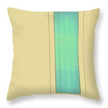 Throw Pillow featuring the photograph Blue  by Vanessa Palomino