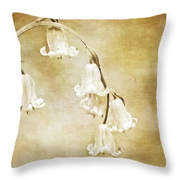 Bluebell Arch Throw Pillow