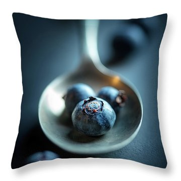 Blueberry Throw Pillows