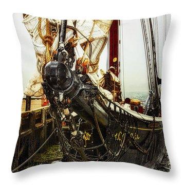 Bluenose II - Nova Scotia, Canada Throw Pillow