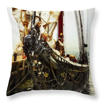 Bluenose II - Nova Scotia, Canada Throw Pillow