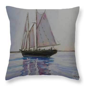 Bluenose Throw Pillow