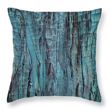 Blues In Motion Throw Pillow