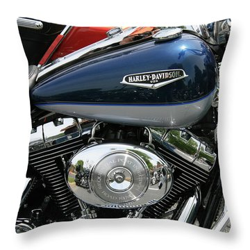 Blues Throw Pillow