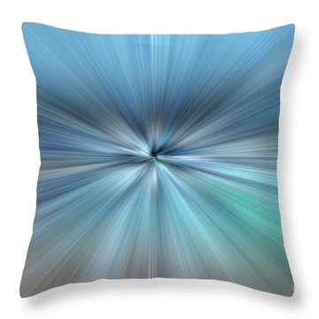 Throw Pillow featuring the photograph Blues by Wanda Krack
