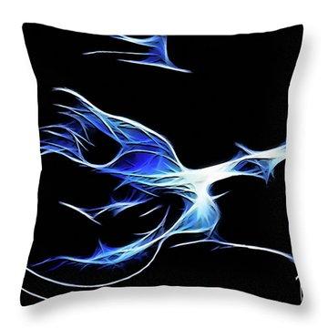 Bluesman Throw Pillow