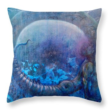 Bluestargate Throw Pillow