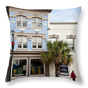 Bluesteins Menswear Charleston Sc  -7434 Throw Pillow
