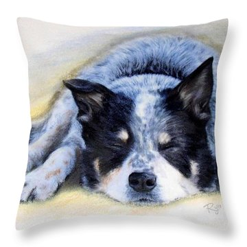 Bluey Throw Pillow